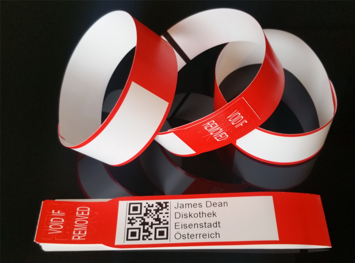 Armband QRCode